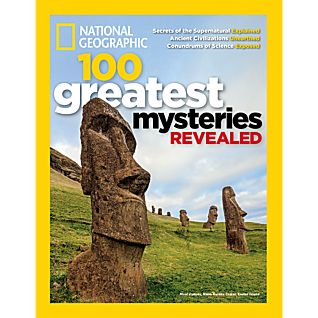 National Geographic 100 Greatest Mysteries Revealed Special Issue