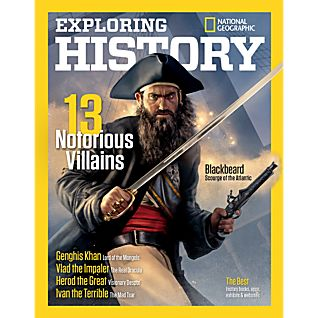 View National Geographic Exploring History: 13 Notorious Villains Special Issue image