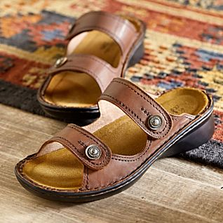 Museum-to-market Adjustable Sandals