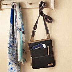 Imported Cross-Body Travel Bag