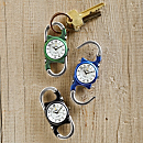 Double-carabiner Clip Watch