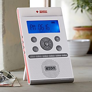 View American Red Cross NOAA Clock Radio and Regional Alert System image