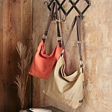 Imported Canvas Hobo Travel Bag