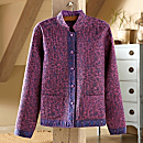 Indian Silk Calico Reversible Jacket