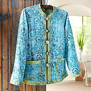 View Reversible Indonesian Batik Jacket image