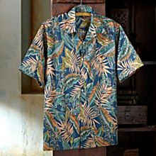 100% Cotton Hawaiian Rain Forest Shirt