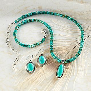 View Navajo Turquoise Earrings image
