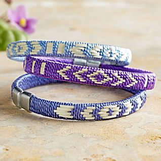 View Colombian Palm-fiber Bracelets - Set of 3 image