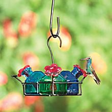 Mexican Hummingbird Bouquet Feeder