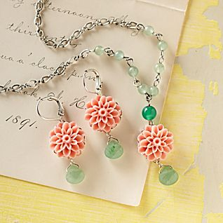 View Guatemalan Rose Earrings image