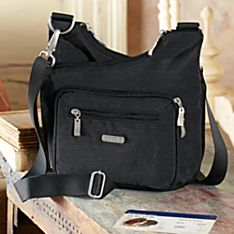 Imported Criss-Cross Travel Bag