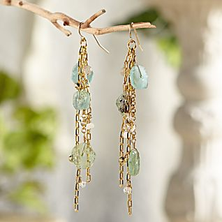 View Roman Glass Cascade Earrings image