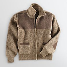 Classic Cardigan Sweaters Mens Wool