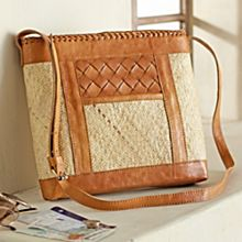 Balinese Rattan Travel Bag, Handmade in Indonesia