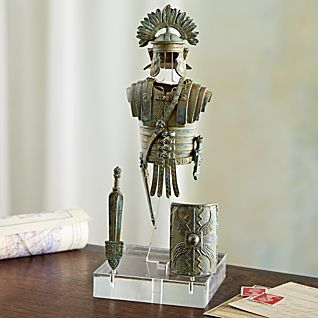 View Bronze Reproduction Roman Soldier Armor image
