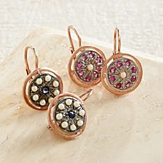 Handcrafted Italian Renaissance Earrings