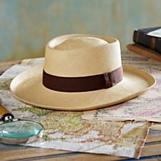 Handwoven Panama Hat Wide Brim