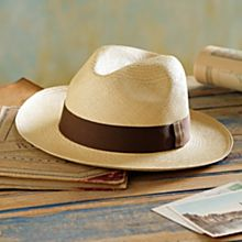 Handwoven Panama Hat Short Brim