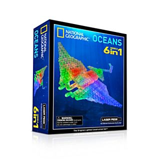 National Geographic Laser Pegs: Oceans