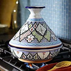 Tunisian Hand-painted Tagine