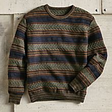 Men's Peruvian Terrace Alpaca Sweater