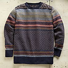 Men's Serbian Kilim Sweater