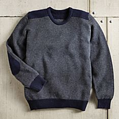 Men's Scottish Bird's-Eye Sweater