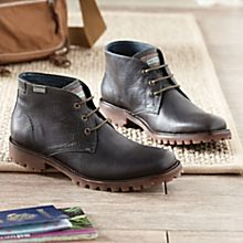Imported Men's Chukka-Style Travel Boots
