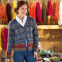 Women's Inca River Alpaca Sweater