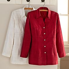 Large Red Womens Clothing
