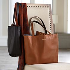 Italian Reversible Leather Bag