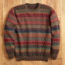 100% Alpaca Bolivian Tiwanaku Sweater