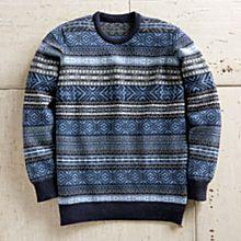 100% Wool Fair Isle Sweater