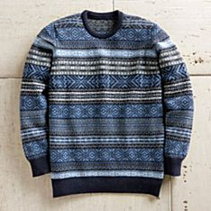 Scottish Wool Sweater Men