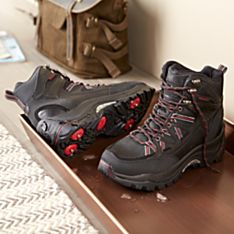 Imported Men's Retractable-Spike Trekking Boots