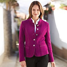 Women's Steinbock Alpine Boiled-Wool Jacket
