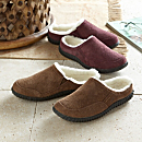 Women's Wool-lined and Suede Travel Shoes
