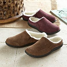 Women's Sheepskin and Leather Travel Shoes