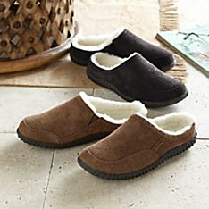 Imported Men's Sheepskin and Leather Travel Shoes