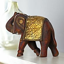 Handcrafted Armored Elephant