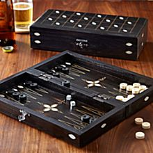 Handcrafted Turkish Miniature Backgammon Set