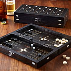 Turkish Miniature Backgammon Set