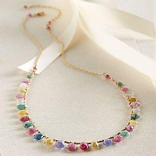 View Thai Sapphire Necklace image