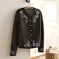 Women's Charcoal Belvedere Palace Wool Jacket