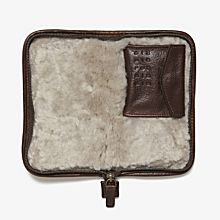 Imported Moore & Giles Leather Accessory Case