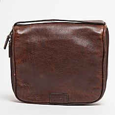 Imported Moore & Giles Leather Toiletry Kit