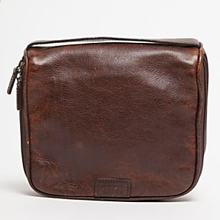 Moore & Giles Leather Toiletry Kit