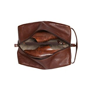 View Moore & Giles Leather Shoe Bag image