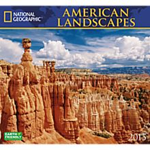 2015 National Geographic American Landscapes Wall Calendar