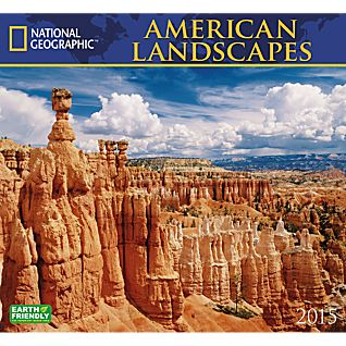 View 2015 National Geographic American Landscapes Wall Calendar image